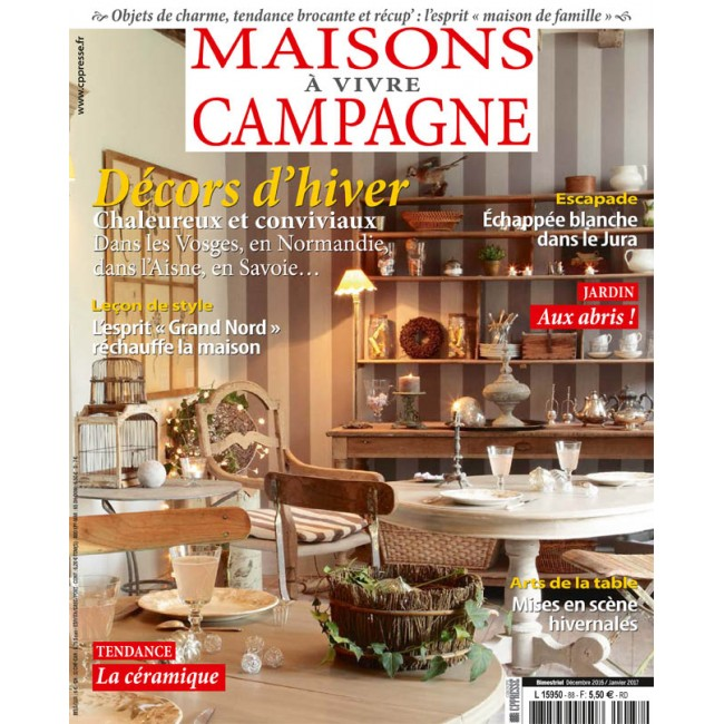 maisons de campagne magazine perfect maison crative with maisons de campagne magazine stunning. Black Bedroom Furniture Sets. Home Design Ideas
