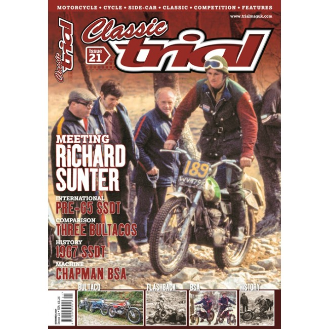 Classic Trial Magazine UK n°21 (anglais)