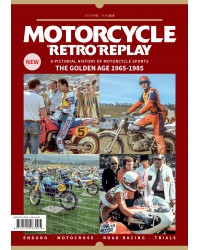 Motorcycle Retro Replay book Issue 1 (anglais)
