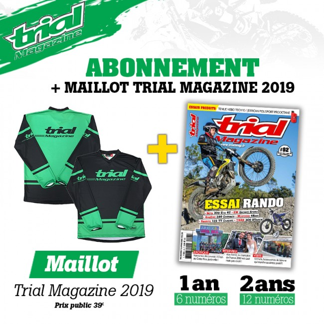 Abonnement Trial Magazine + Maillot