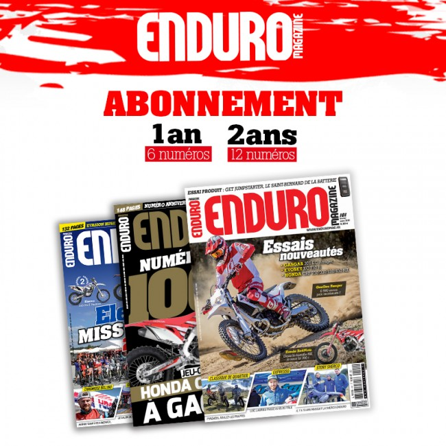 Abonnement Enduro Magazine