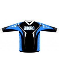 Blue riding shirt Enduro Magazine