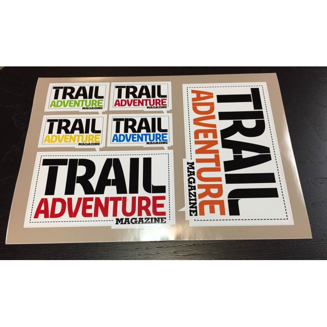 Stickers Trail Adventure Magazine