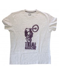 Tee-shirt chinée Trial