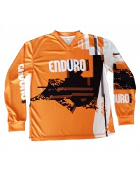 Maillot Enduro Magazine orange