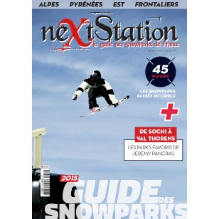 Next Station 2015 - Le guide des snowparks