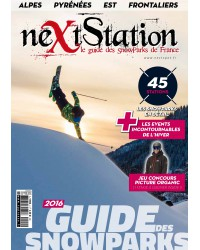 Next Station 2016 - Le guide des snowparks