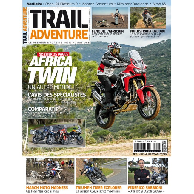 Trail Adventure Magazine n°6
